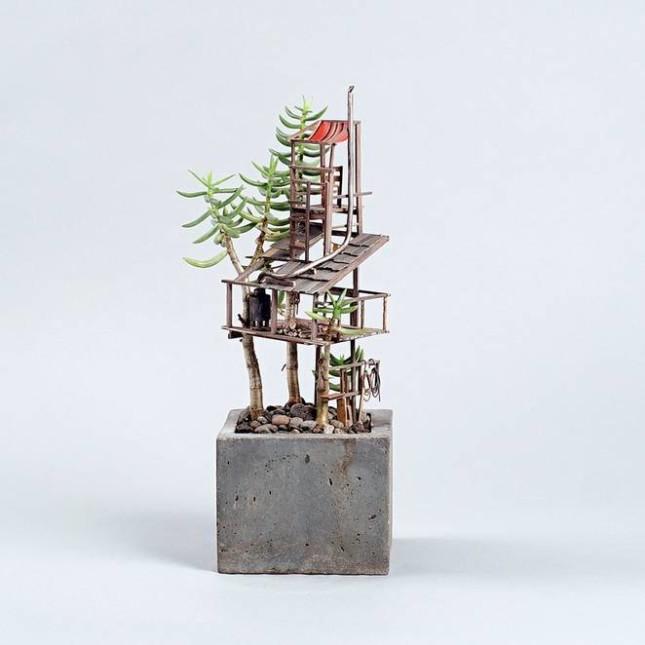 case miniatura di Jedediah Corwyn Voltz 9