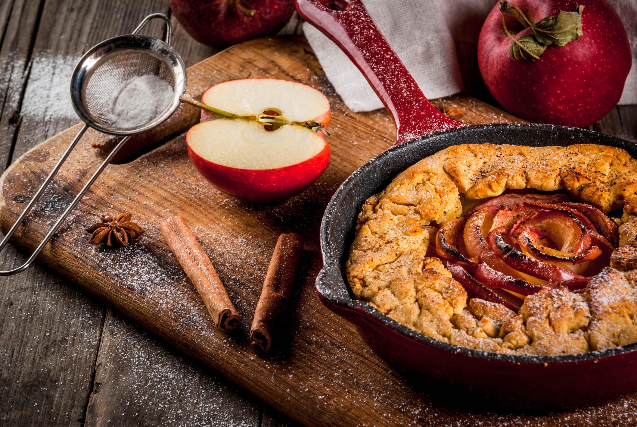 Galette rustica di mele, ricetta