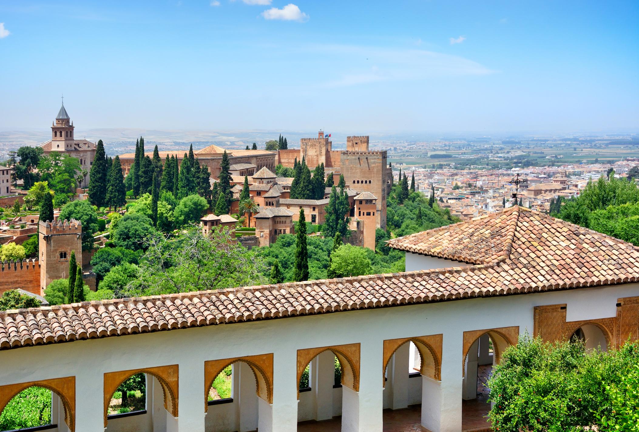 Vista dell' Alhambra dal Generalife