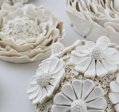 Vanessa Hogge. Sculture di fiori2