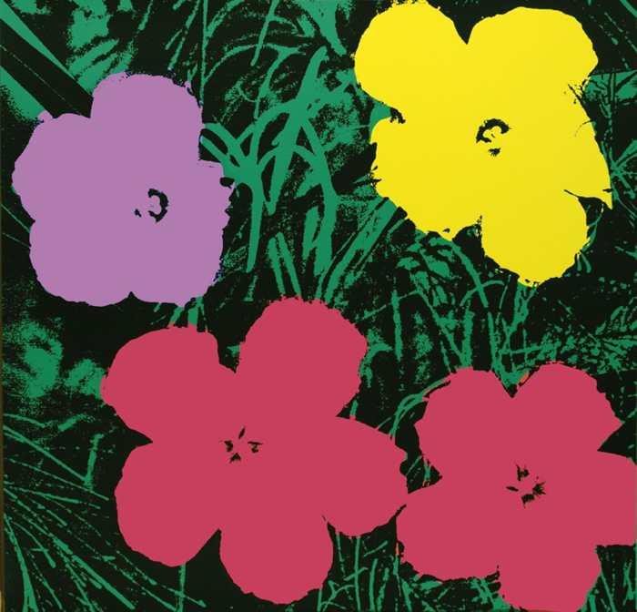 Warhol fiori