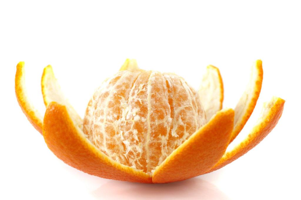Decorazioni con mandarini